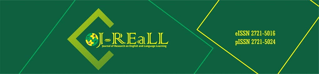 Journal of Research on English and Language Learning